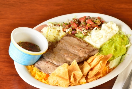 colombian food: Colombian cuisine  Stock Photo