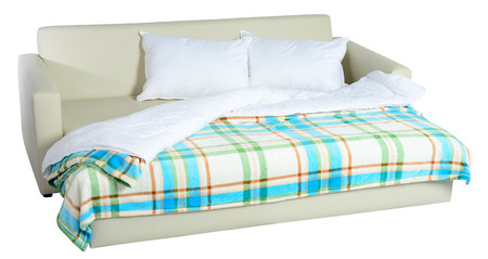 sofa bed: Futon  Isolated