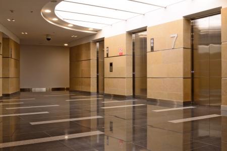 Accès à la salle d'ascenseur Banque d'images - 25343971