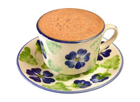 chocolate caliente: Chocolate caliente aislado