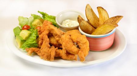 comida colombiana: Alimentos empanados de pescado colombiano