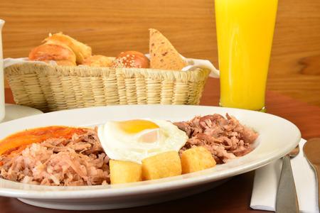 comida colombiana: Calentado comida colombiana