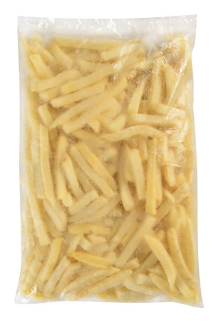 Fries packaging  Isolated