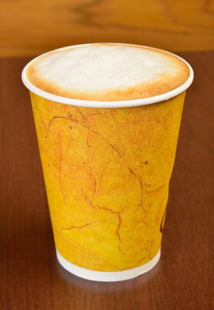 latte art: Cappuccino  Take out