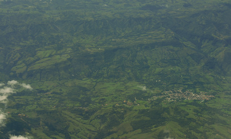 ander: Aerial view over Colombia