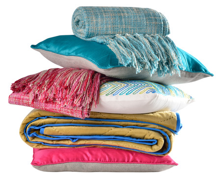 bed sheet: Bedding objects  Isolated