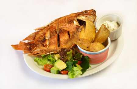 colombian food: Colombian cuisine  Fried fish