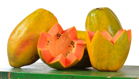 grope: Papaya  Isolated