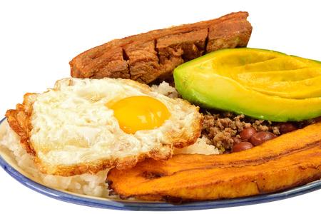 colombian: Colombian cuisine  Bandeja paisa