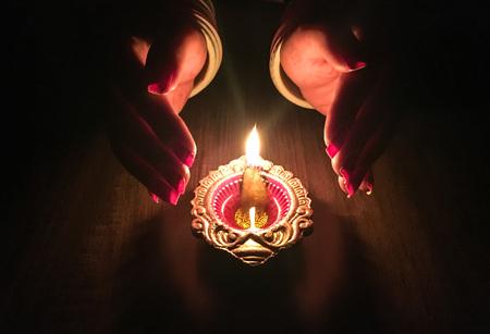 diwali celebration and decoration