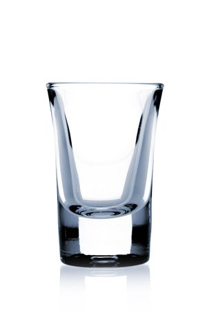 Cocktail Glass Collection - Small Shot. Isolated on white background Stock Photo