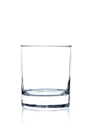 Cocktail Glass Collection - Classic Old Fashioned. Isolated on white background