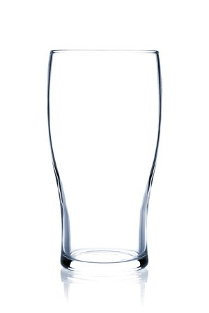 cerveza negra: Colecci�n de vidrio c�ctel - Beer Stout. Aislados en fondo blanco