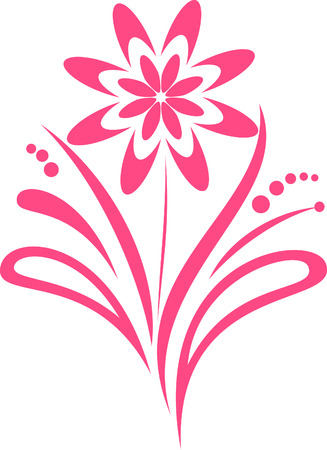 the pink spring flower Stock Vector - 6466380