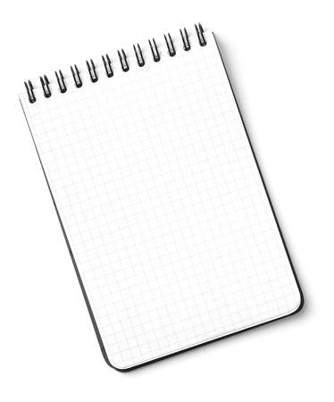 Blank notepad ge