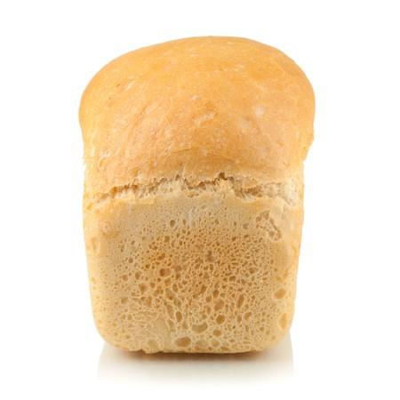 White bread. Isolated on white background Stock Photo - 7491939