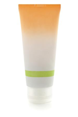 Cream bottle. Isolated on white background Stock Photo - 8650718