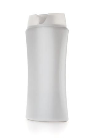 White shampoo bottle. Isolated on white background Stock Photo - 9045185