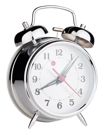 Alarm clock isolated on white background Stock Photo - 9627002