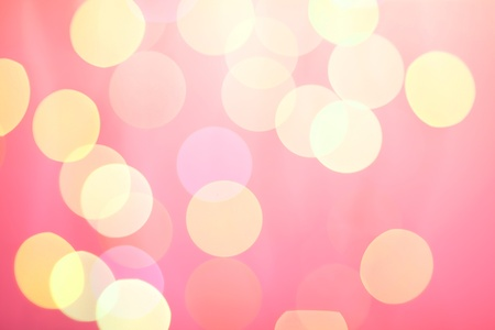 Abstract sunny bokeh on red background Stock Photo - 9703660