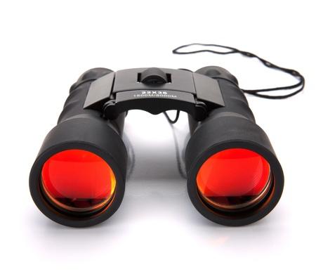 Binoculars. Isolated on white background Stock Photo - 9960783