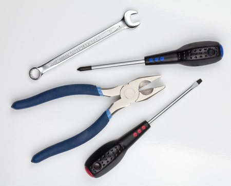 Tools. Above view. Stock Photo - 10102323