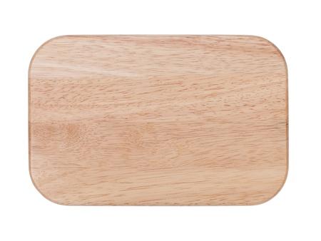 まな板: まな板ボード。白い背景で隔離 写真素材
