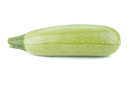 vegetable marrow: Fresh marrow vegetable. Isolated on white background
