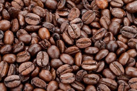large bean: Closeup of coffee beans