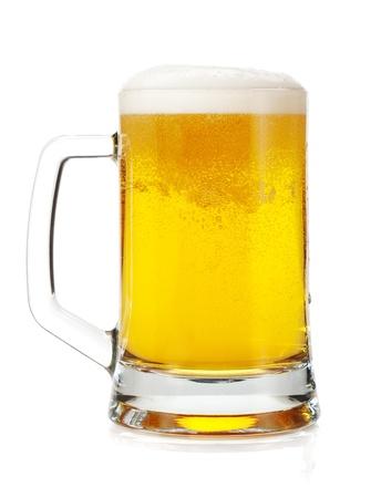 Beer mug. Isolated on white background Stock Photo - 16901960