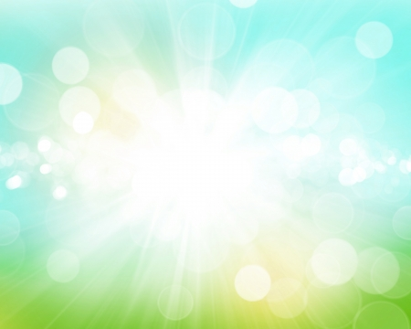 summer beauty: Sunny blurred bokeh abstract background Stock Photo