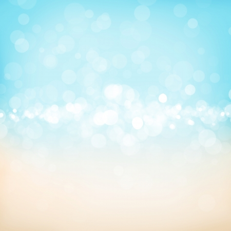 dirty water: Blurred bokeh abstract nature background with sea cost Stock Photo