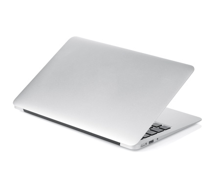 Laptop. Isolated on white background Фото со стока