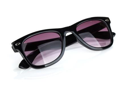 sunglasses reflection: Sunglasses. Isolated on white background