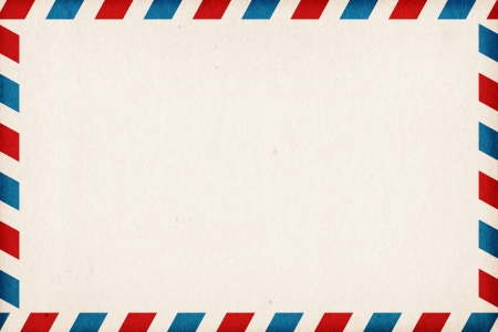old envelope: Abstract post envelope colorful background with copyspace