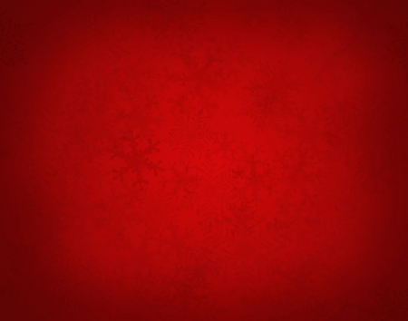 Abstract red christmas background with snowflakes photo