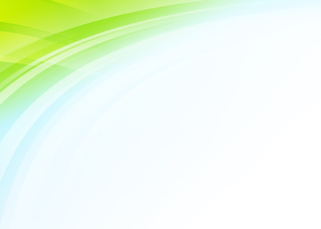 the green background: Colorful wave abstract gradient background Stock Photo