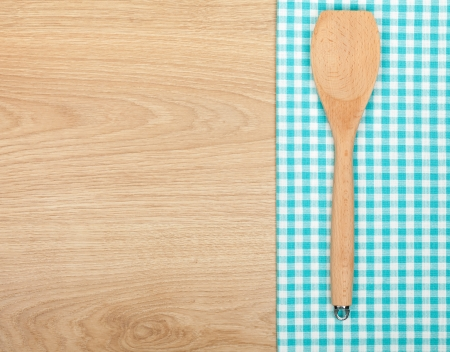 kitchen tools: Kitchen utensil on wooden table with copy space