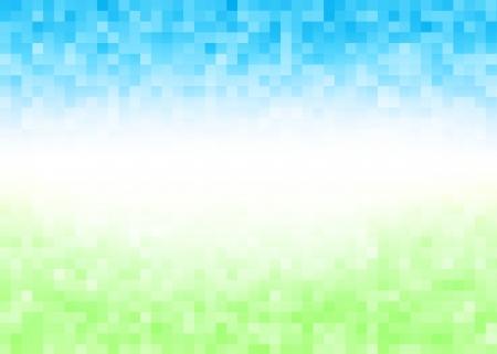 抽象的なグラデーション ピクセル カラフルなパターン背景
