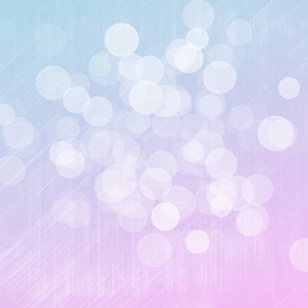 Blurred bokeh colorful winter background Stock Photo