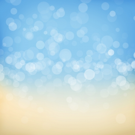 yellow sky: Blurred bokeh abstract nature background Stock Photo