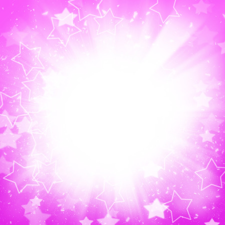 lightbeam: Abstract holiday background with stars and lightbeams