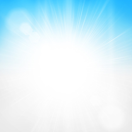 Bright sun light sky background 免版税图像