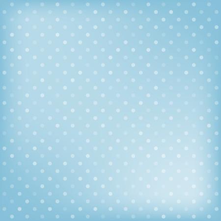Polka dot blue background. Vector illustration Vector