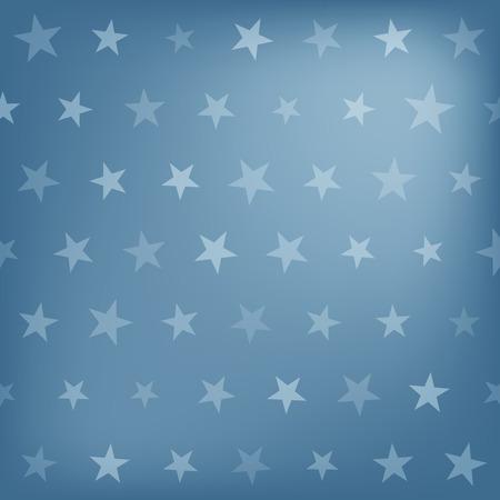 stelle blu: Blue Stars pattern di sfondo. Illustrazione vettoriale