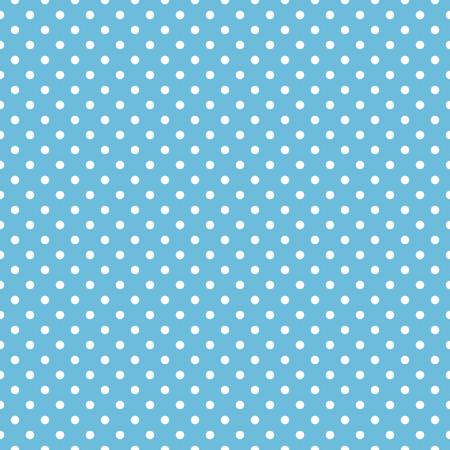 polka dot pattern: Seamless blue polka dot background pattern