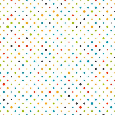 カラフルなドットの背景パターン図  イラスト・ベクター素材