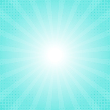 light burst: Colorful rays texture background illustration Illustration