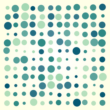 ellipses: Abstract dotted colorful background texture