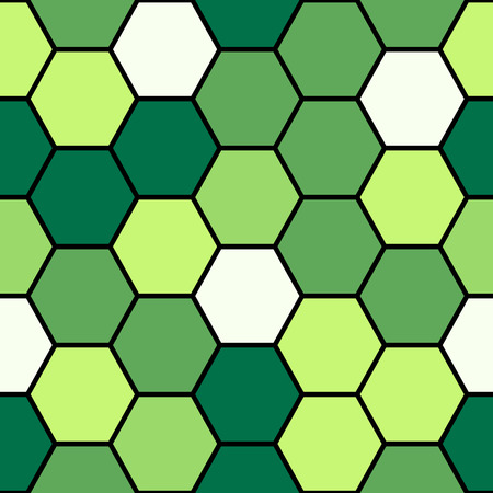 hexagonal pattern: Hexagon colorful seamless pattern background texture